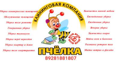 """Клининговая компания """"ПЧЕЛКА"""""""